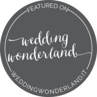 Featured on Wedding Wonderland badge